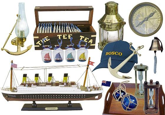Hajós ajándéktárgyak - újdonságok