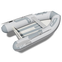Outboard inflatable boat / RIB / aluminum / yacht tender