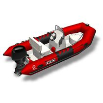 Outboard inflatable boat / RIB / center console / sport