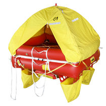 Boat liferaft / coastal / ISO 9650-2 / inflatable