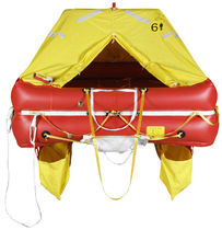 Boat liferaft / offshore / ISO 9650-1 / inflatable