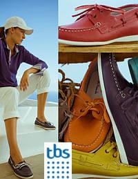 hajós TBS cipő