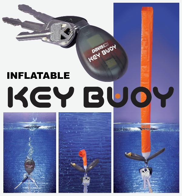 Key Buoy patronos, felúszó kulcstartó