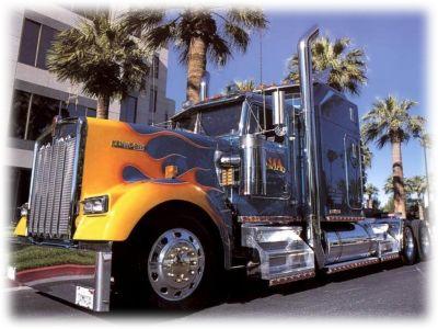 Kamion ventilátor 24V