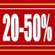 Hajós és parti ruházati vásár 20-50 százalék!