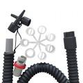 Pótcső+adapterek gcs pumpához
