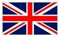 Zászló angol 20x30