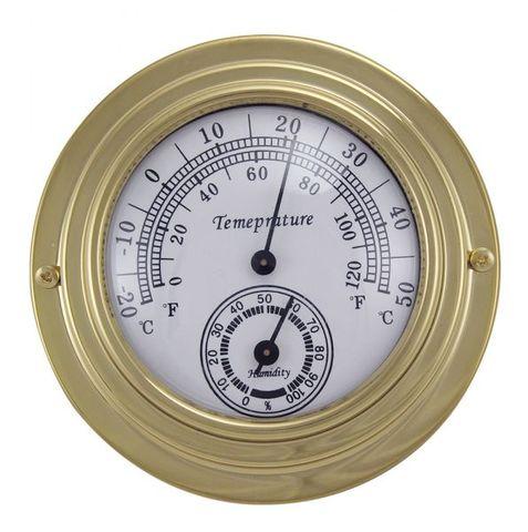 Hőmérő páratartalommérő réz f70b80c08f