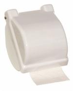 Wc papírtartó fehér műanyag