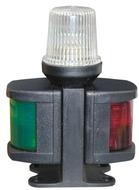 Lámpa tricolor,piros/zöld+feh.
