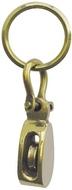 Kulcstartó réz vitorlás csiga