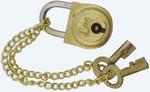 Lakat réz, mini 2 kulccsal
