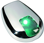 Lámpa jobb oldalfény zöld r.m.