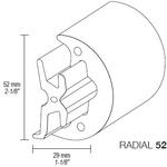 Profil Radial52 műa. fehér