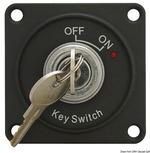 Főkapcsoló, paneles, kulcsos