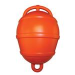 Bója gömb narancs2-fülű kemény