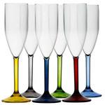 Pohárkészlet 6db pezsgős