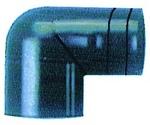 Csőcsatlakozó 38mm,90fokos