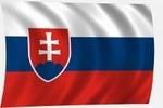 Zászló szlovák 60x100 nyom.