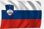 Zászló szlovén 40x60 címeres