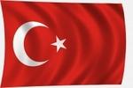 Zászló török 30x45