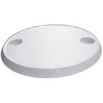 Asztallap fehér ovál 76x45cm