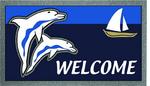 Lábtörlő 40x68cm delfines