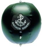 Fekete gömb 40 cm felfújható