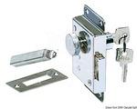 Ajtózár klt. kulcsos, 95x58 mm