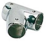 Korlát Y-elem kr.réz 22 mm 60f