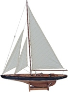 Hajómodell vitorlás 80cm