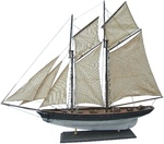Hajómodell vitorlás 72cm