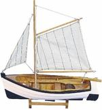 Hajómodell halászhajó 33cm