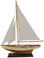 Hajómodell vitorlás h.40cm