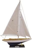 Hajómodell vitorlás h.49cm