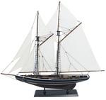 Hajómodell vitorlás 74cm