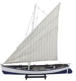 Hajómodell halászhajó 60 cm