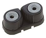 Clam 3-8mm műanyag fekete Mini