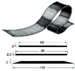 Profil gumicsónak kílre 90mm