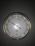 Páratartalommérő réz 70 mm
