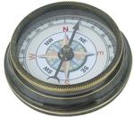 Kompasz antikolt réz
