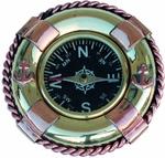 Kompasz réz, mentőgyűrűben