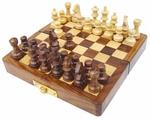 Mini sakk, fa, összecsukható