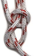 Kötél 16os fall fehér/sötétkék