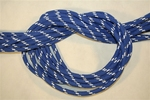 Kötél 12es schott kék/fehér