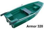 Csónak Armor 320 zöld