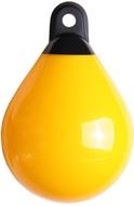Cseppfender 48x64 sárga