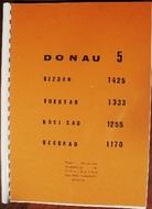 Térkép Donau Band5 Bezdan-Belg