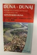 Térkép Duna turista II.