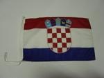 Zászló horvát 40x60 kötős